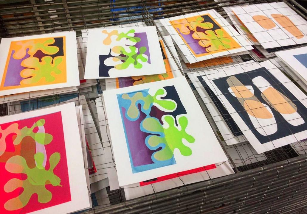 zeefdrukken, Grafisch Atelier Haarlem