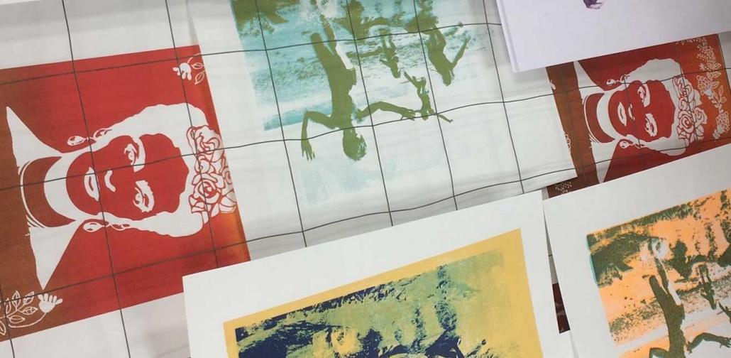 zeefdrukken Kom Drukken Grafisch Atelier Haarlem