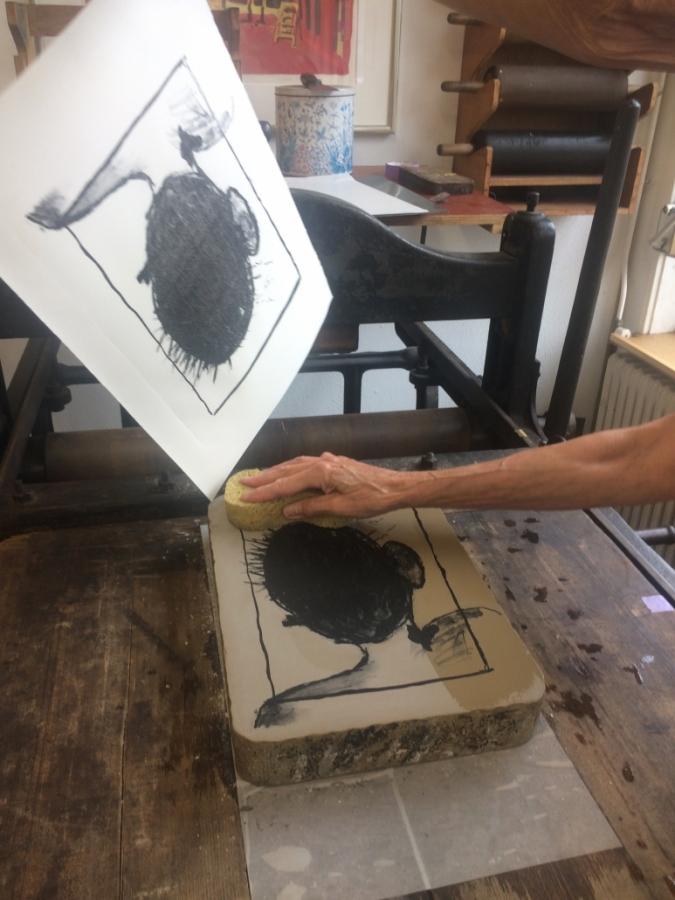 Grafisch Atelier Haarlem, Lithografie
